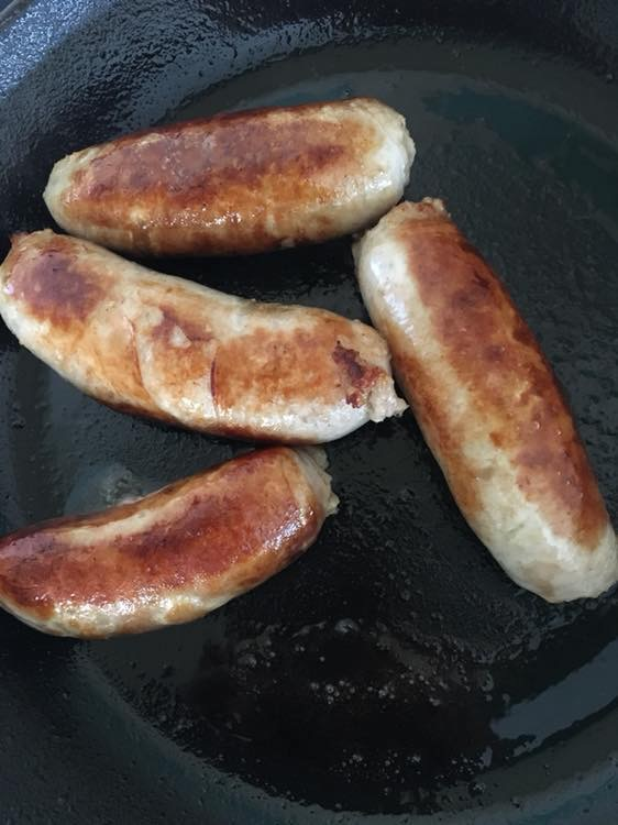 Gluten Free sausages from Scotts Field Pork